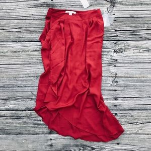 🖤🌟HP🌟🖤 NWT Asymmetrical Midi Skirt XS